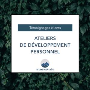 Témoignages_Ateliers développement personnel
