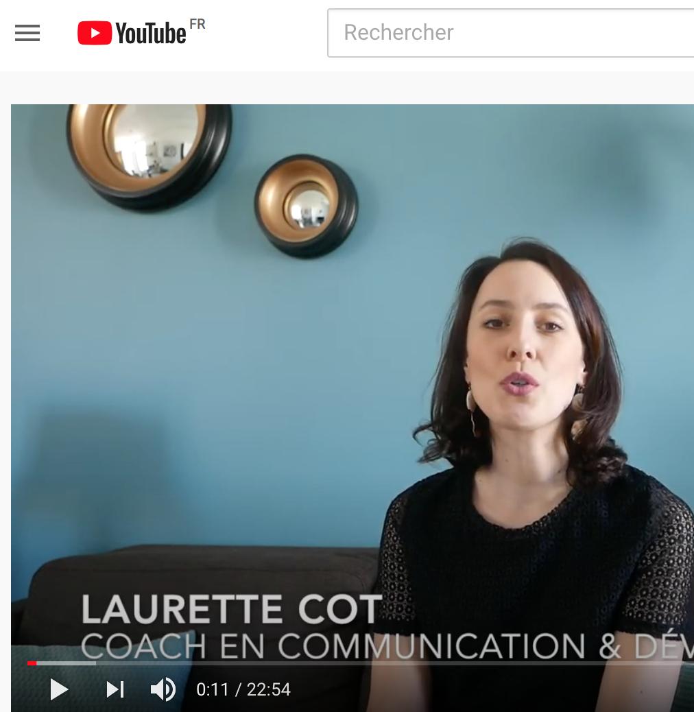 Vidéo Repères Communication Laurette Cot_1_L'ADN et le cap_Cabinet Le long de la crête
