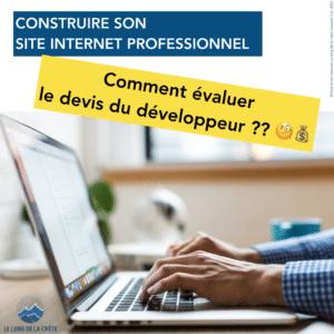 Webinaire Réussir son site Internet professionnel_300620 par Laurette Cot_Le long de la crête_Visuel 2