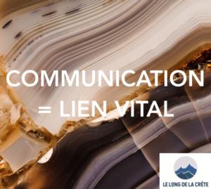 Approche Laurette Cot_Le long de la crête_Communication lien vital