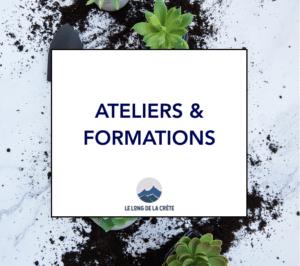Ateliers & Formations Le long de la crête Laurette Cot coaching