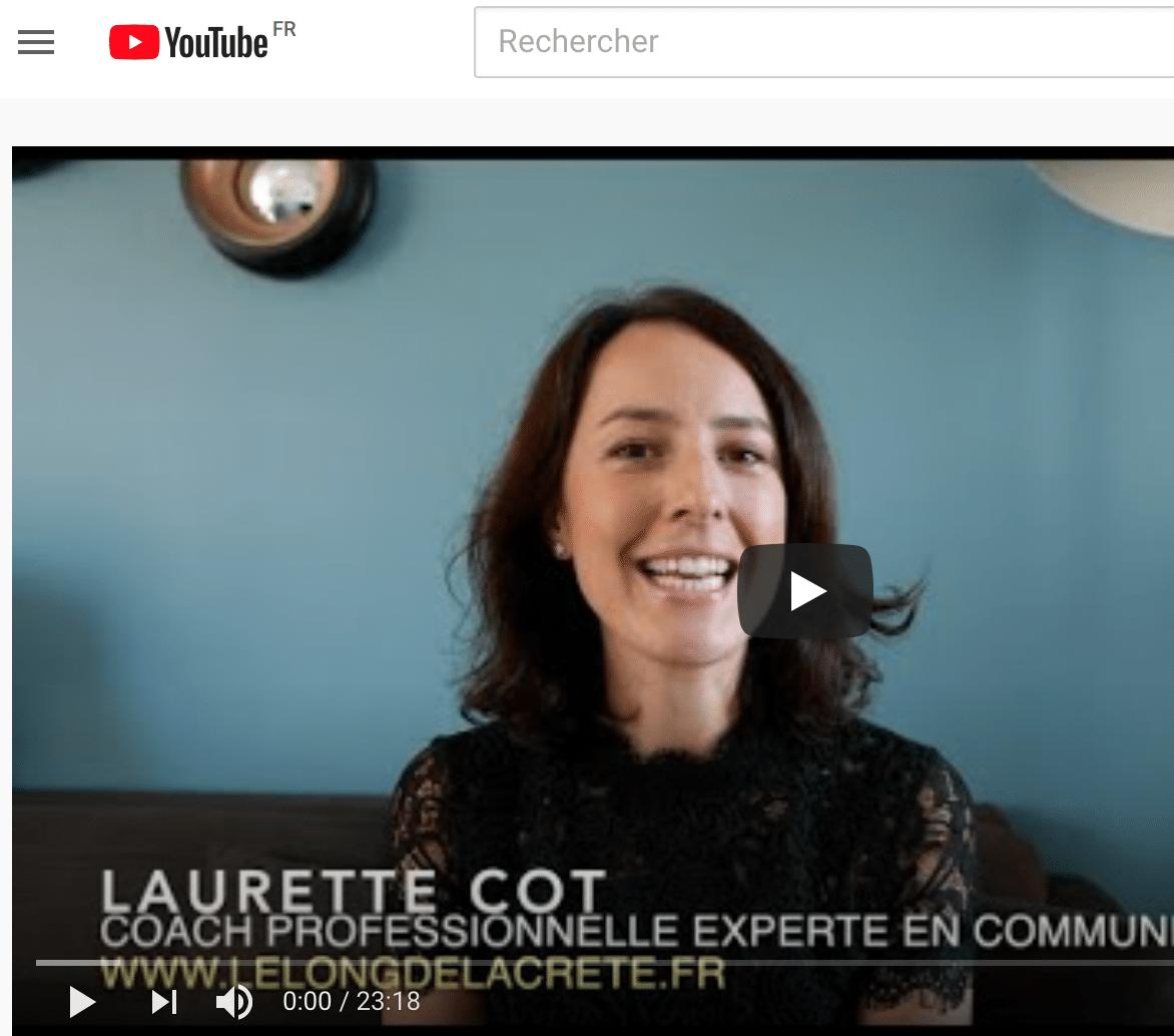 Laurette Cot_Coach professionnelle experte en communications_LE LONG DE LA CRÊTE_Vidéo Repères Coaching 1