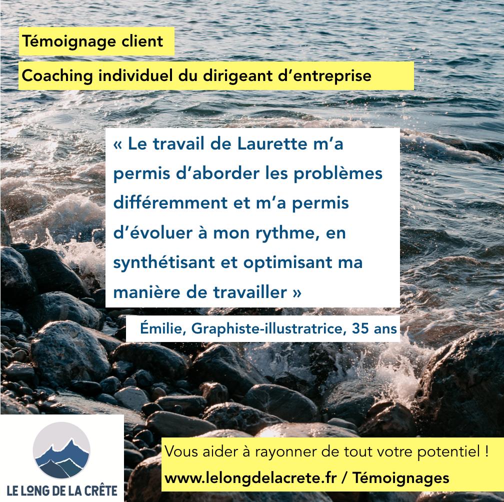 Laurette Cot_LE LONG DE LA CRÊTE _Accompagnement de chefs d'entreprise