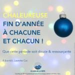 Chaleureuse fin d'année 2020 à vous_Laurette Cot LE LONG DE LA CRÊTE PARIS